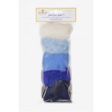 Pack de laine cardée pour motif Nuage et Pluie