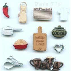 Bouton Récréatys Dans la Cuisine