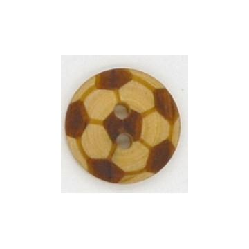 Bouton en buis ballon de foot