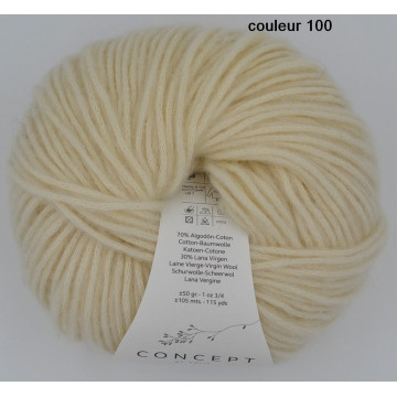 Cotton-mérino  Concept katia
