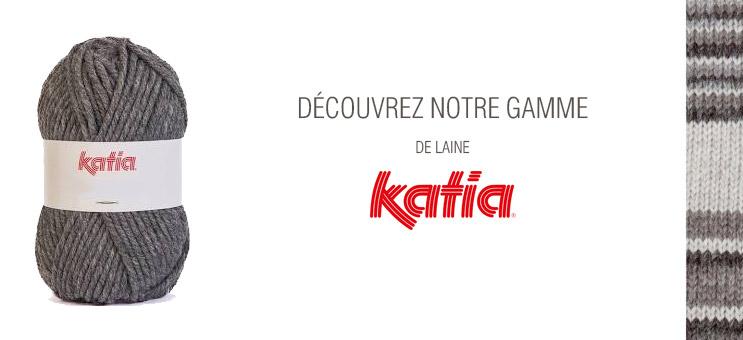 Notre gamme de la marque Katia